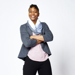 TORONTO, CANADA - FEBRUARY 11: Former WNBA player Tamika Catchings poses for portraits during the NBAE Circuit as part of 2016 All-Star Weekend at the Sheraton Centre Hotel on February 11, 2016 in Toronto, Ontario, Canada. NOTE TO USER: User expressly acknowledges and agrees that, by downloading and/or using this photograph, user is consenting to the terms and conditions of the Getty Images License Agreement. Mandatory Copyright Notice: Copyright 2016 NBAE (Photo by Jennifer Pottheiser/NBAE via Getty Images)