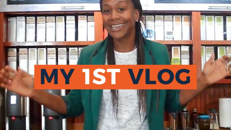 My 1st Vlog!