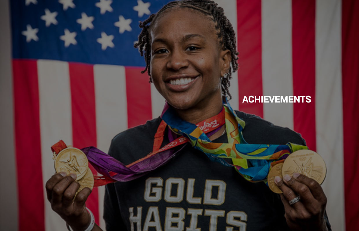Tamika Catchings Gold Medals