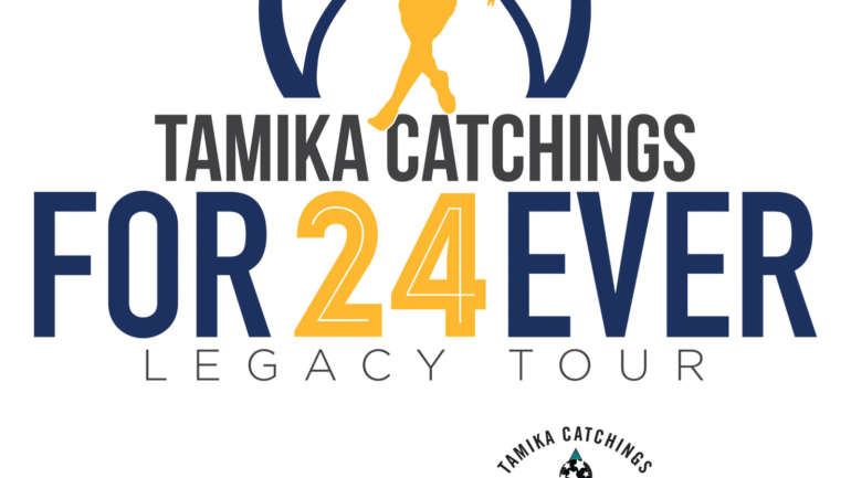 Tamika Catchings Catch the Stars Clinic: #24Forever Legacy Tour