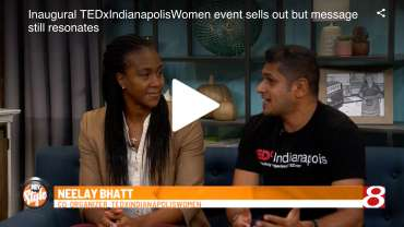 Tamika Catchings joins TEDxIndianapolisWomen