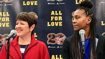 Indiana Fever hire new president, promote Tamika Catchings to VP