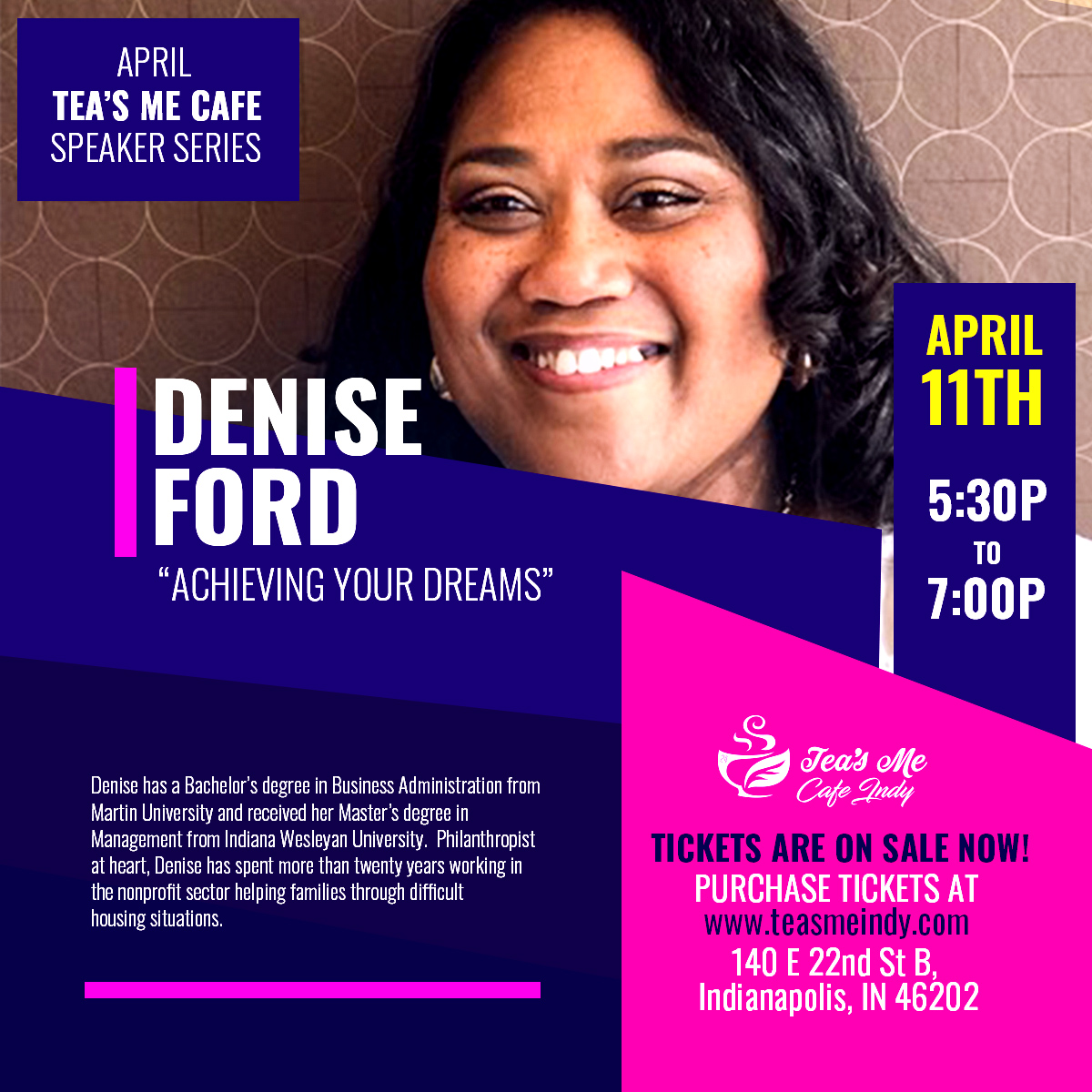Tea's Me Speaker Series