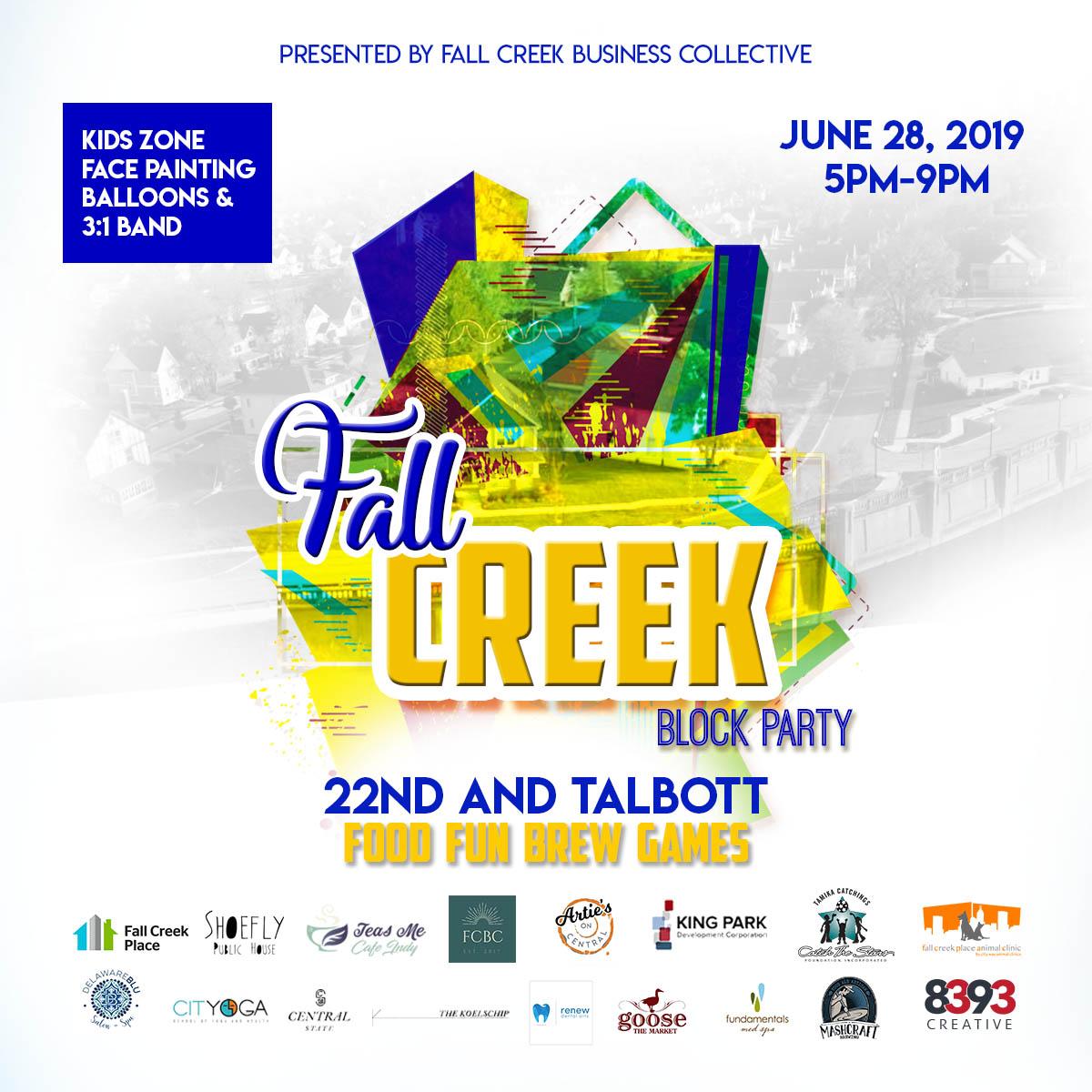 Fall Creek Block Party