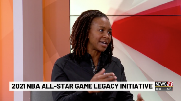 Tamika Catchings discusses 2021 NBA All-Star game Legacy Initiative