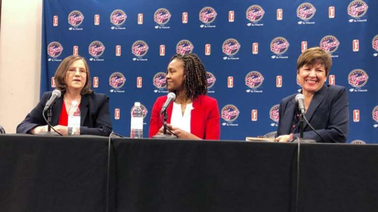 Tamika Catchings' Role Grows As Indiana Fever Hire 2019 WNBA Champion Marianne Stanley As Next Head Coach
